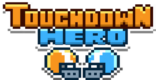 TOUCHDOWN HERO LOGO